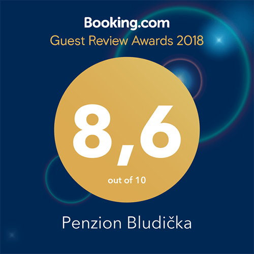 Ocenění Booking.com | 8.6/10